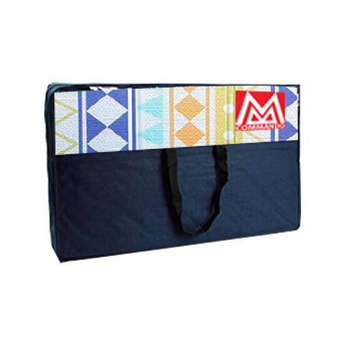 석코리아 코만도 인디고 3단 캠핑매트 + 보관가방, 혼합 색상