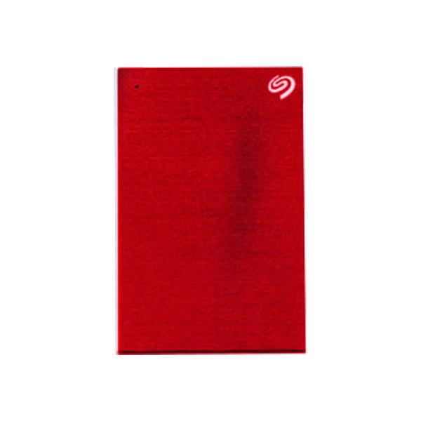 씨게이트 Backup Plus 포터블 외장하드, 4TB, Red