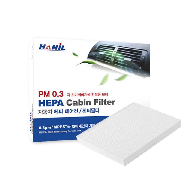 한일 PM0.3 자동차 에어컨 필터, 1개, UM181