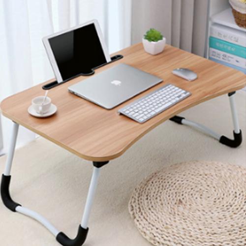 라무어 폴딩 노트북테이블 베드트레이, 나무색