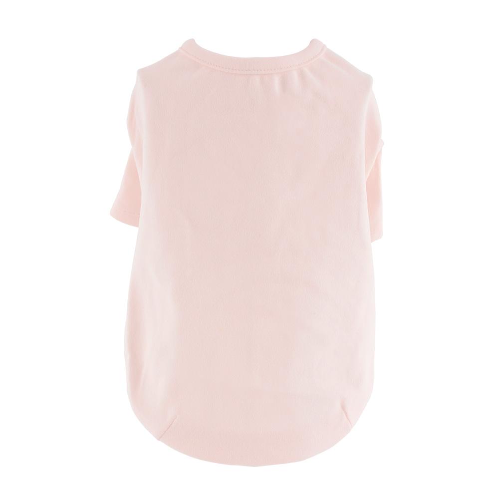도그아이 강아지옷 50수 티셔츠, 핑크