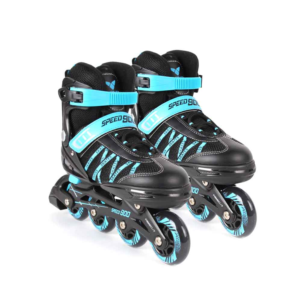 비바스포츠 스피드 900 티안이 사이즈조절 인라인스케이트, 블루