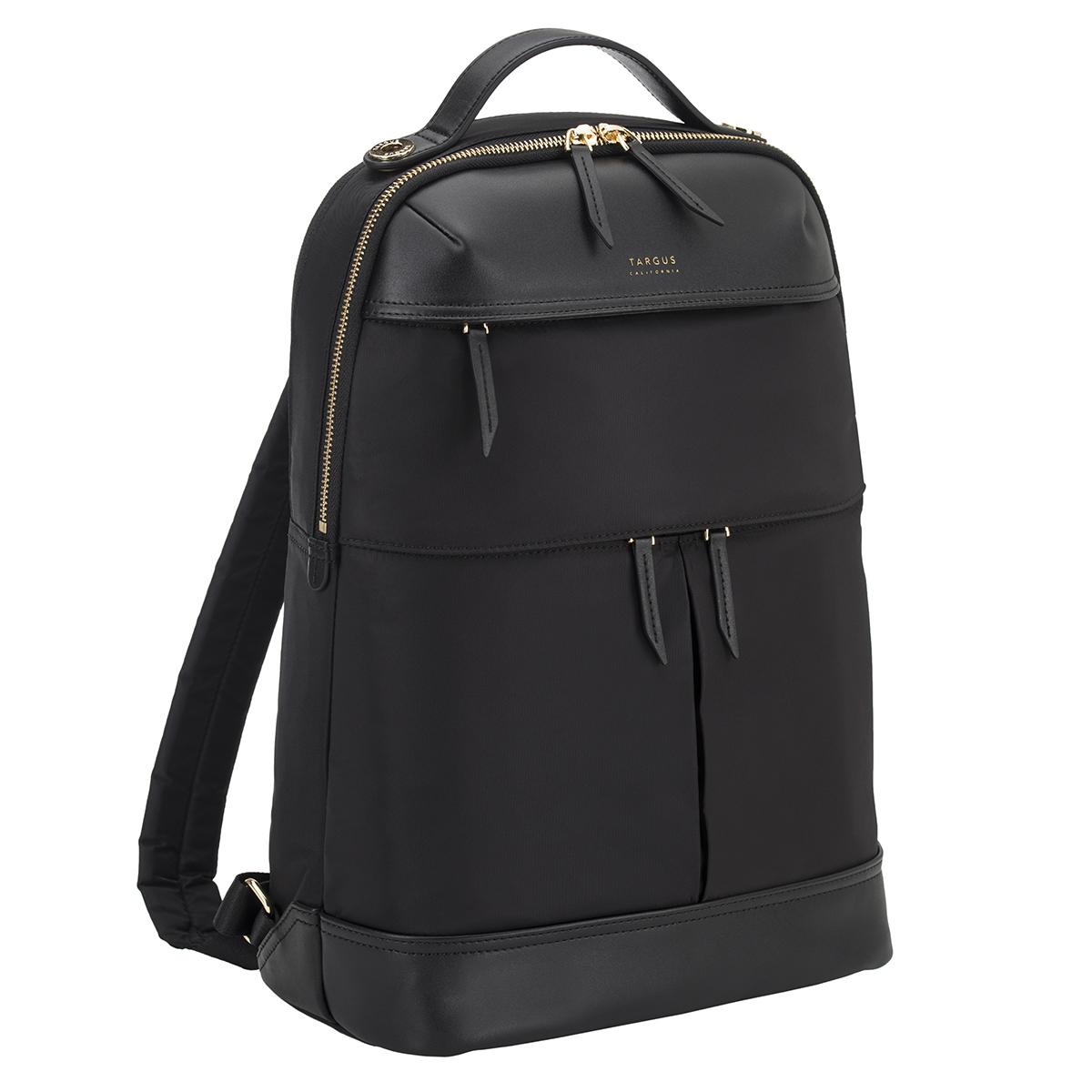 타거스 고급 여성 뉴포트 노트북 백팩 TSB945GL, 블랙