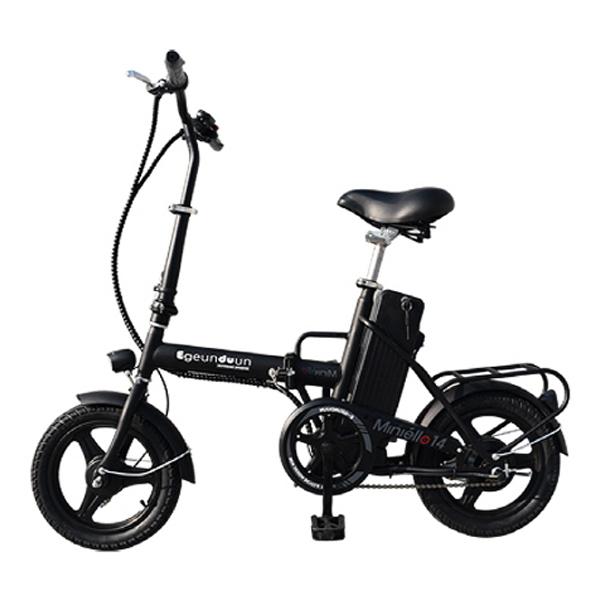 [전기자전거] e근두운 미니엘로14 전기자전거, 블랙 - 랭킹6위 (355830원)