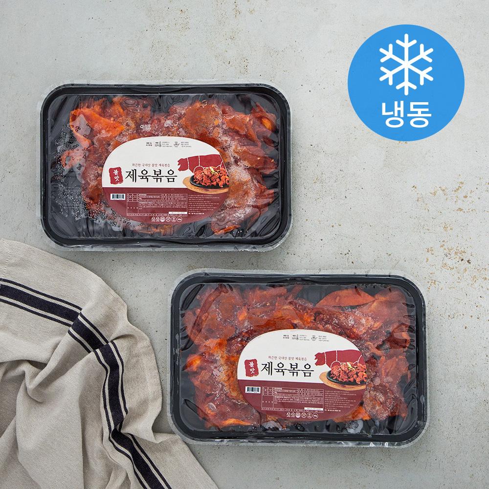 불맛 제육볶음 (냉동), 400g, 2개입