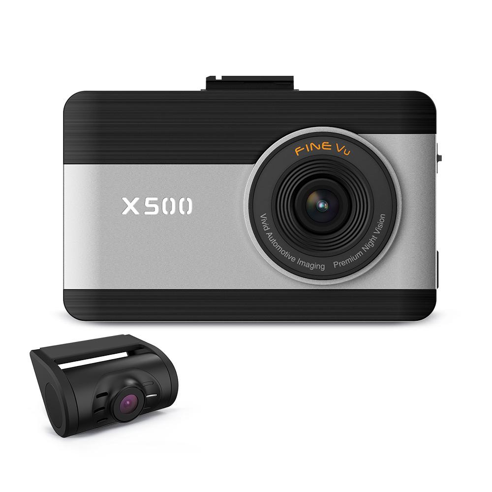 파인뷰 FHD 2채널 블랙박스 64GB X500