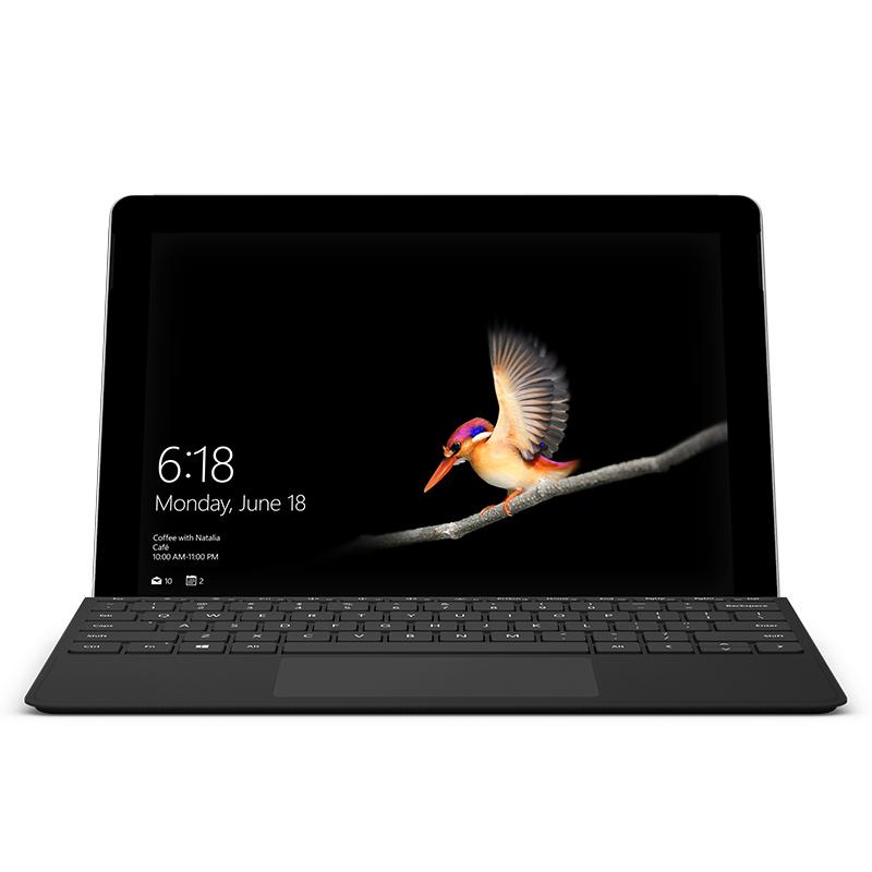 마이크로소프트 서피스 고 LTE (펜티엄 골드 4415Y 25.4cm), 128GB, 8GB, 블랙 타입커버