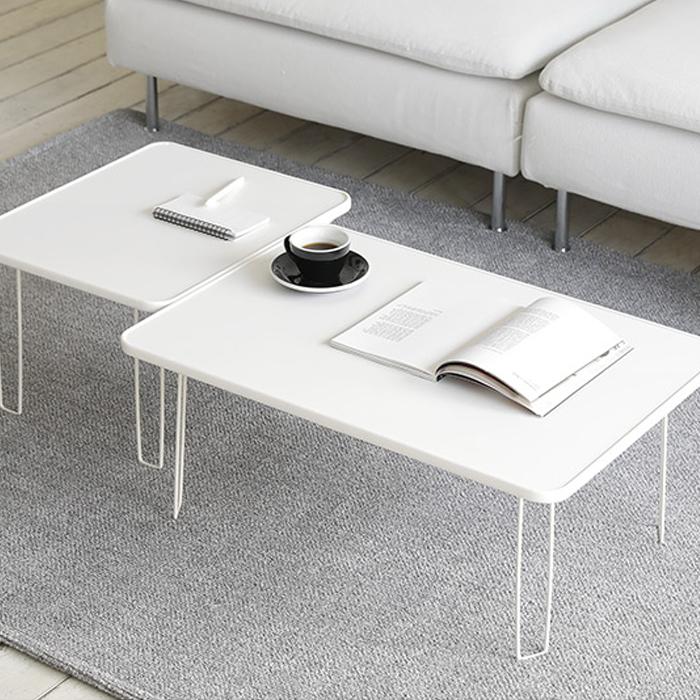 룸앤홈 모노 폴딩 테이블 600, 화이트