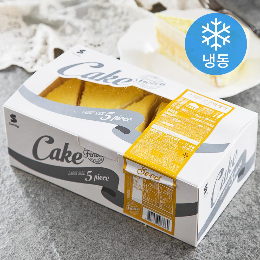 삼립 고구마케익 5개입 (냉동), 450g, 1개