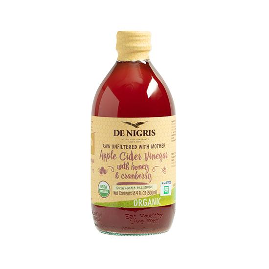 드니그리스 유기농 사과식초 허니크랜베리, 500ml, 1개