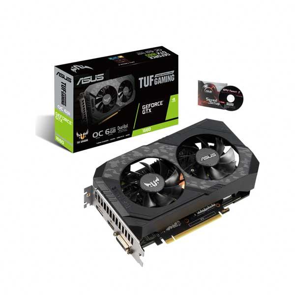 에이수스 TUF Gaming 지포스 그래픽카드 6GB GTX 1660 O6G D5
