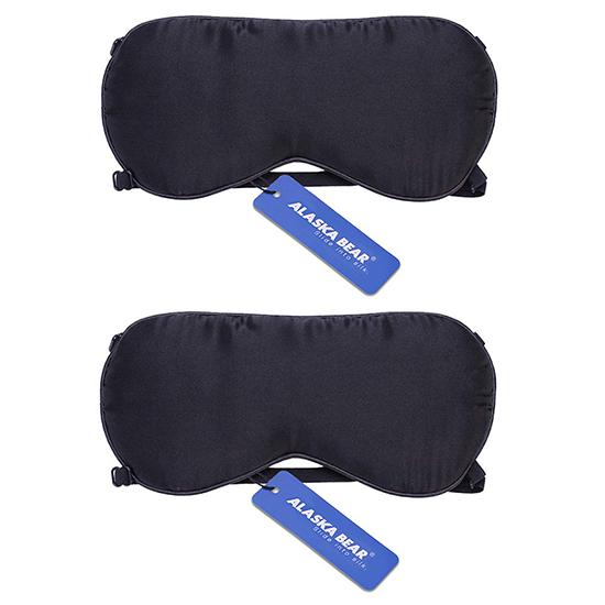 알래스카 베어 실크 수면안대 고급형 2p