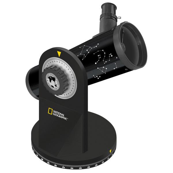내셔널지오그래픽 76/350 Compact Telescope 76mm 반사망원경, 116배율, 1개