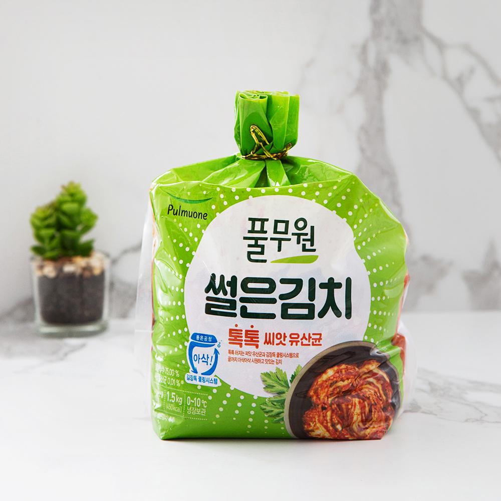풀무원 풀무원 톡톡 썰은김치, 1.5kg, 1개