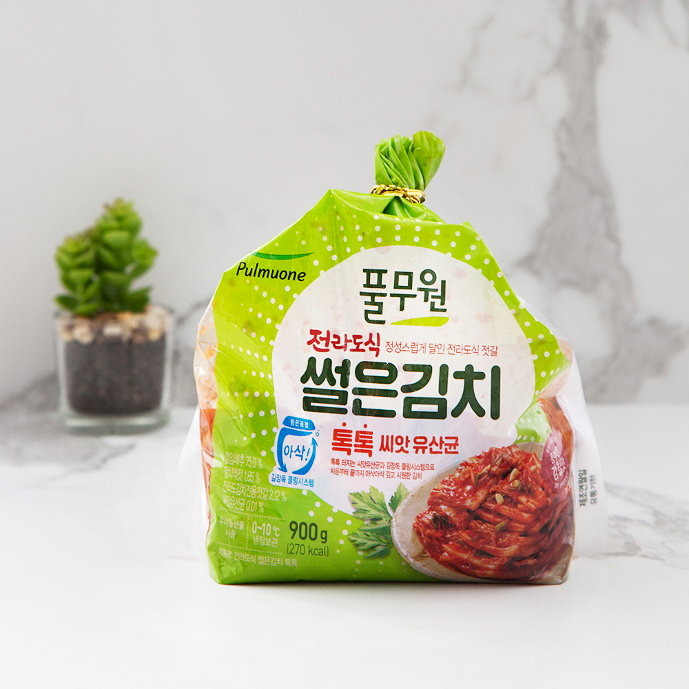 풀무원 톡톡 전라도식 썰은김치, 900g, 1개