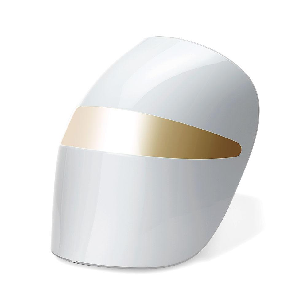 프라엘 화이트V 더마LED마스크 피부마사지기, BWJ2V, 화이트 골드