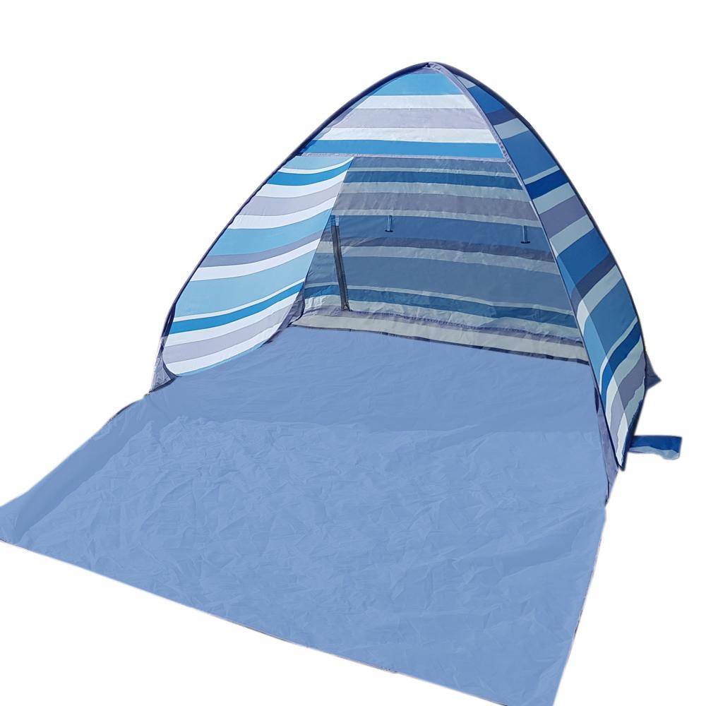 알뜨리 피크닉 원터치 텐트 + 가방, 비치블루, 중형(1-2인용)-22-222991579