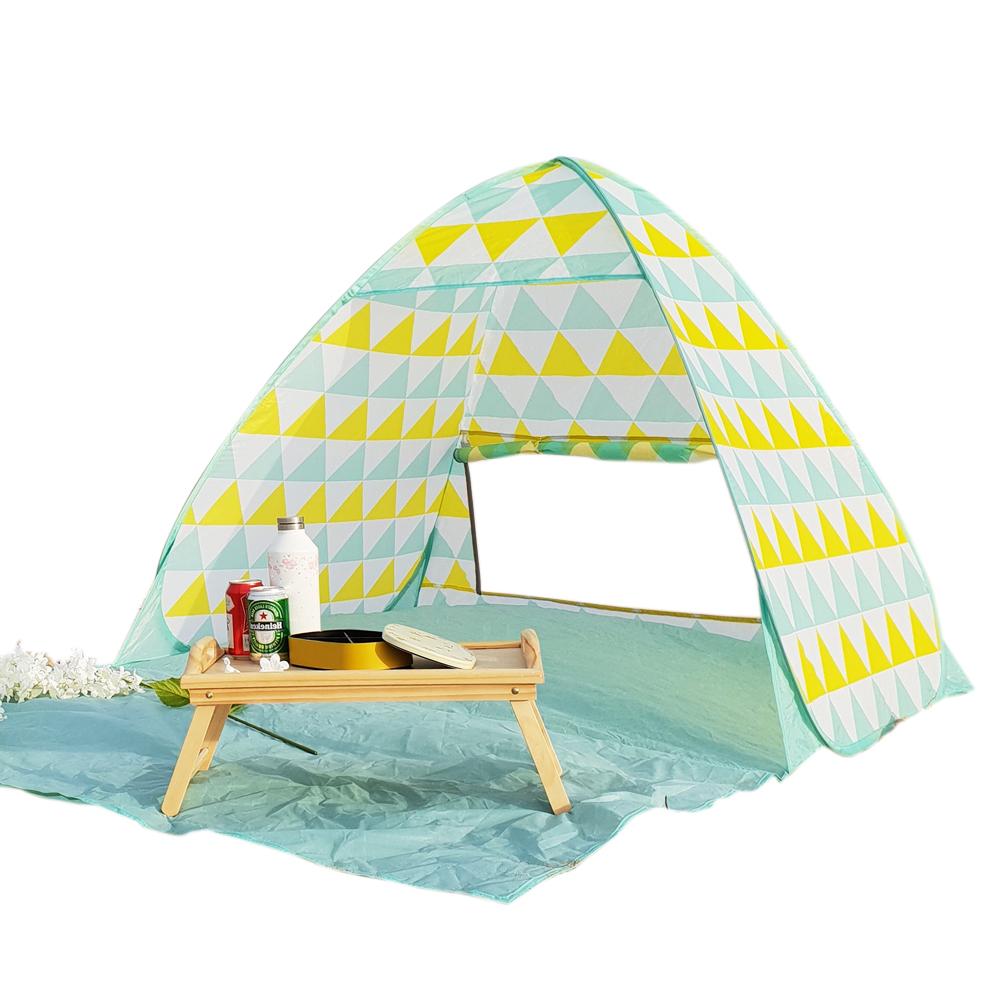 알뜨리 피크닉 원터치 텐트 대형 + 가방, 파크민트, 대형(2-3인용)-7-222991579