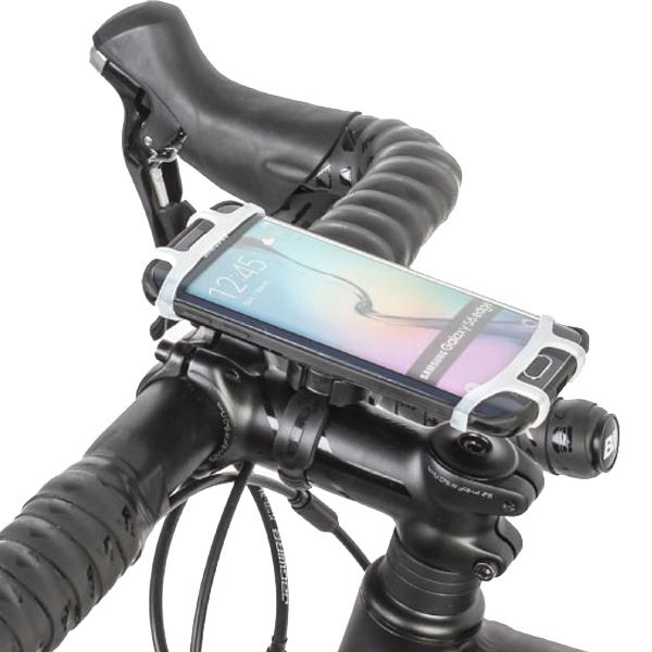 비엠웍스 슬림7 스마트폰 자전거 거치대, 혼합 색상, 1세트