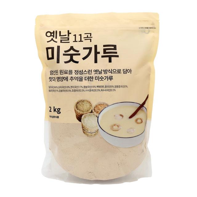 [선식] 태광선식 옛날 11곡 미숫가루, 2kg, 1개 - 랭킹30위 (9790원)