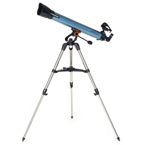 셀레스트론 INSPIRE 90 AZ 굴절식 천체망원경, 13배율, 1개