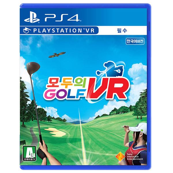 소니 PS4 모두의 골프 VR 한글판 PSVR, 단일 상품