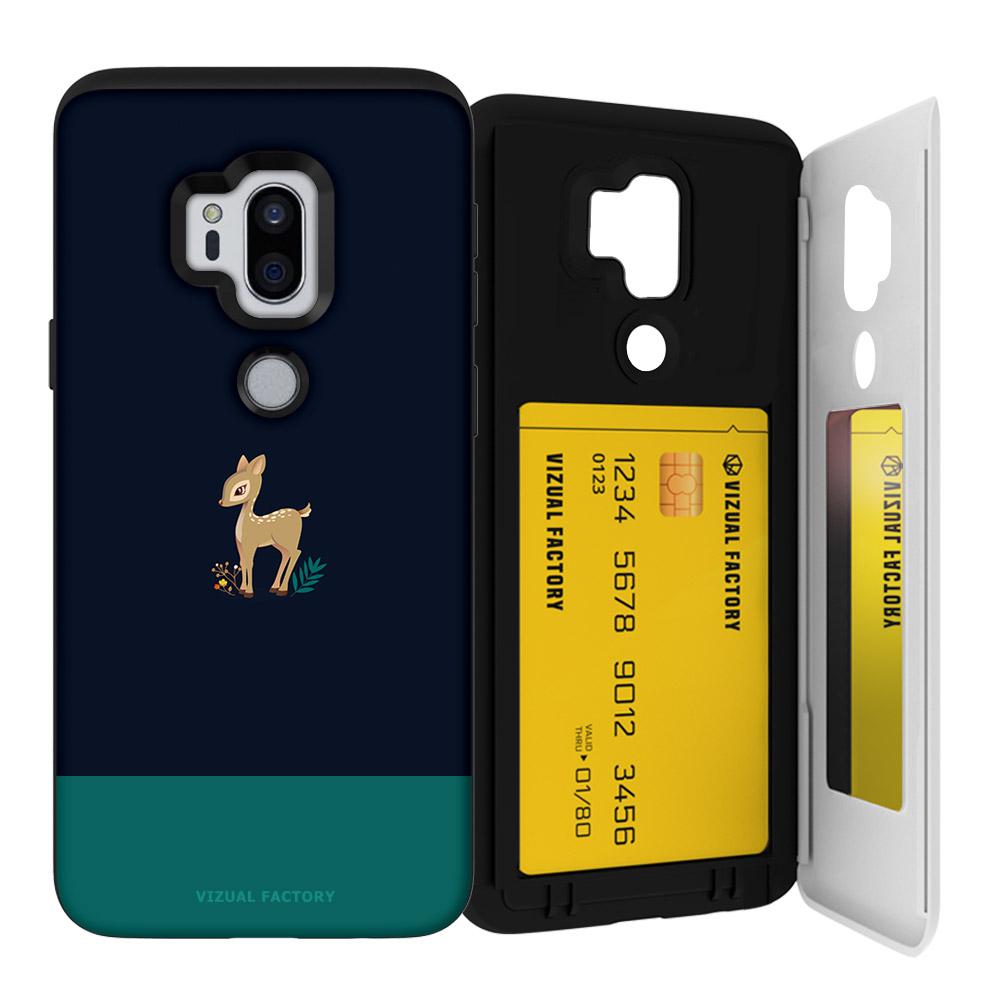 비주얼팩토리 동물포인트 오픈미러카드 휴대폰케이스