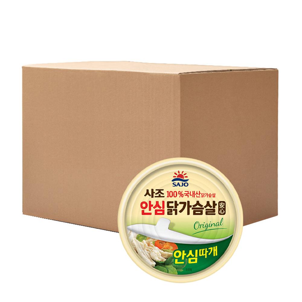 [통조림] 해표 안심 닭가슴살 통조림, 135g, 48개입 - 랭킹30위 (59050원)