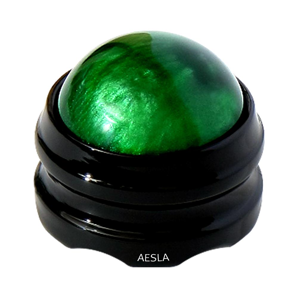 애슬라 360도 롤링 마사지볼, 그린, 1개 (POP 180545160)