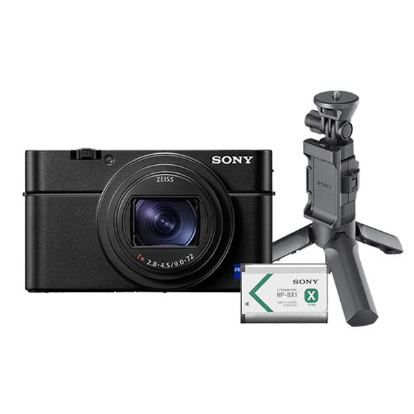 소니 하이엔드 카메라 DSC-RX100M6 + 슈팅그립 VCT-SGR1 + 배터리 NP-BX1, 카메라(DSC-RX100M6),  그립(NP-BX1), 배터리(NP-BX1)