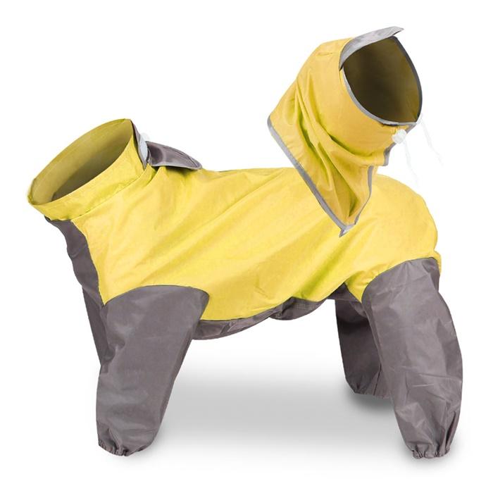 딩동펫 반려동물 올인원 우비, 옐로우