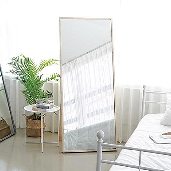 [대형 와이드 전신거울] 이즈하임 케이트 스탠드형 전신거울 700, 오크 - 랭킹4위 (66990원)