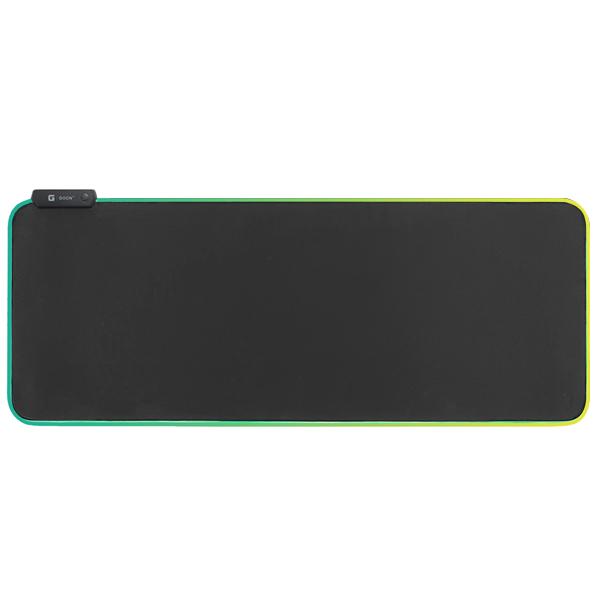 지군 LED 마우스 장패드 MP-780RGB, 단일 색상, 1개