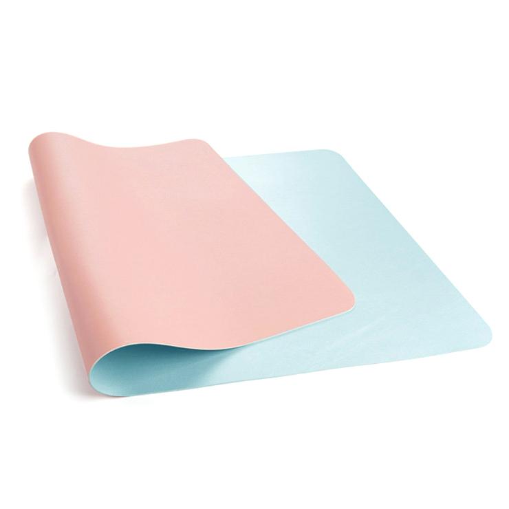아리코 마일드컴 듀얼 논슬립 데스크패드, 핑크 + 블루