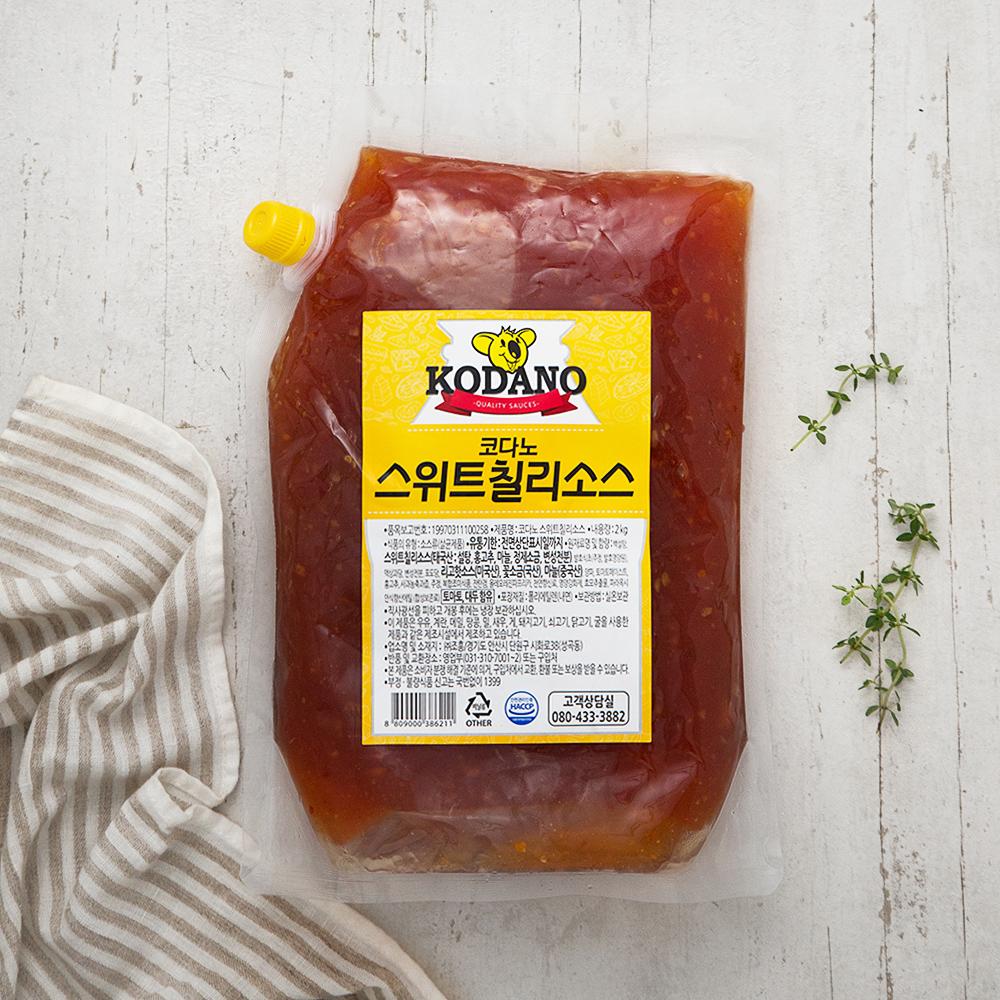 코다노 스위트 칠리소스, 2kg, 1개
