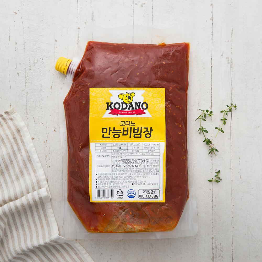 코다노 만능비빔장, 2kg, 1개