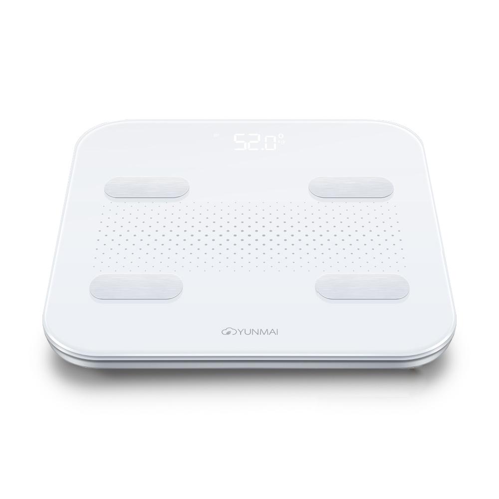 윈마이 S 스마트 충전식 체중계, M1805KR, 화이트