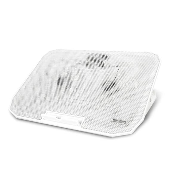 나비 노트북 쿨링패드 NV40-NTP20, 화이트