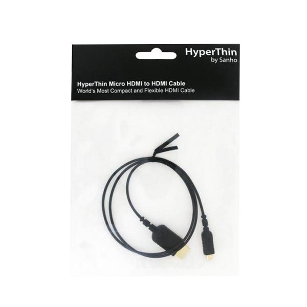 하이퍼 Micro HDMI to HDMI 케이블 HTU08, 1개, 0.8m