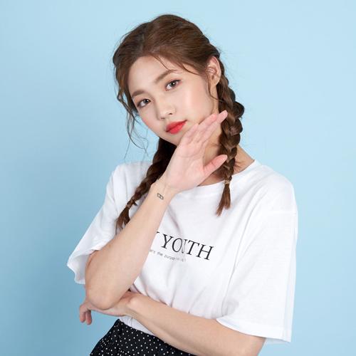 반에이크오 여성용 YOUTH 반팔 티셔츠