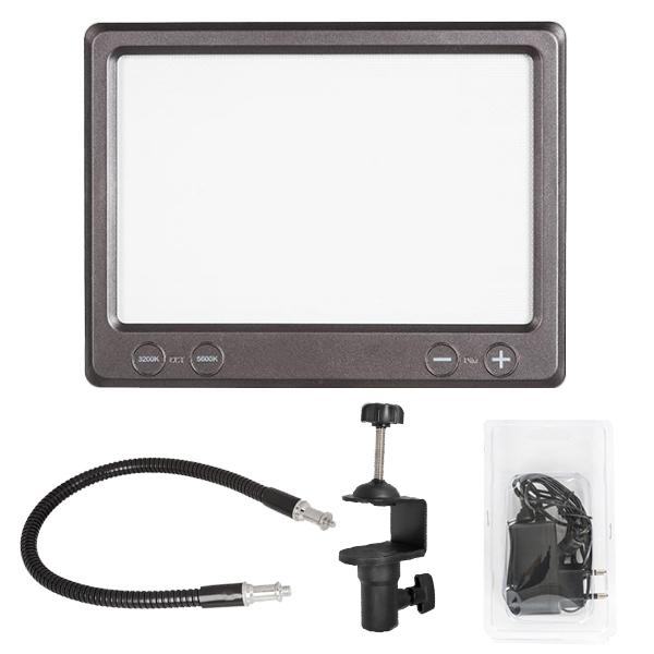 유쾌한생각 개인방송용 자바라 LED조명 1등 세트, LUXPAD K22H, 1세트