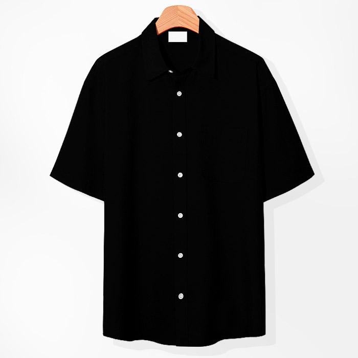 제이에이치스타일 남성용 아이스 쿨링 반팔 셔츠