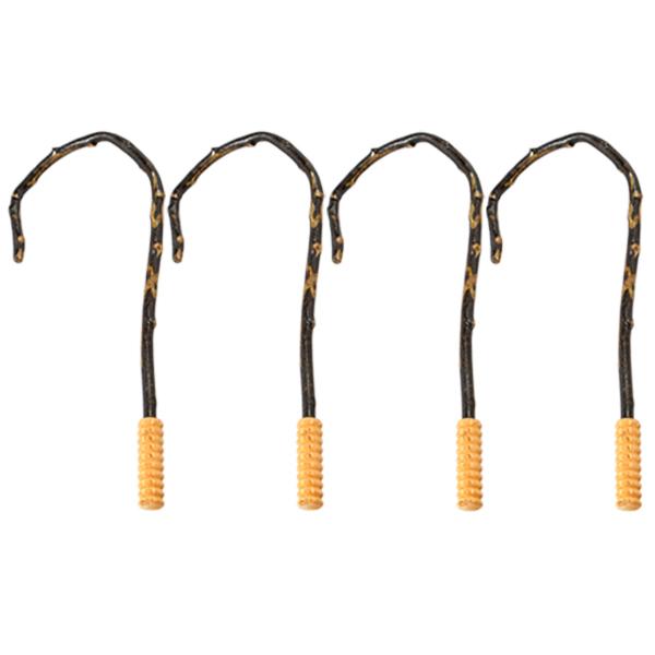 에이비엠코리아 갈고리지압봉, 4개입, 혼합 색상
