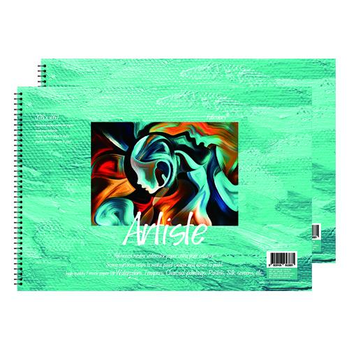 풀컬러즈 미술용 스케치북 170g x 2p, 8절, 15매
