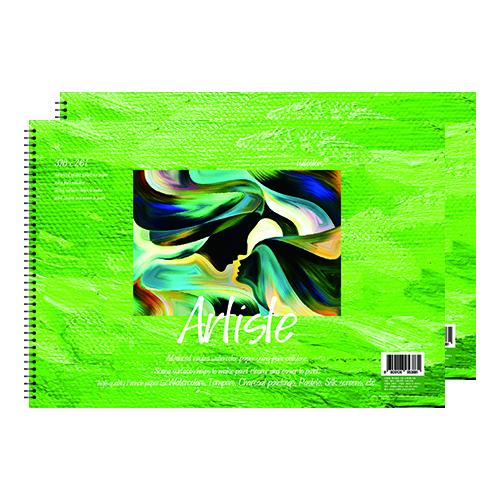 풀컬러즈 미술용 스케치북 200g x 2p, 8절, 15매