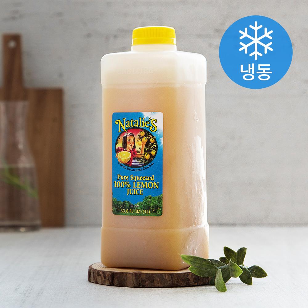 나탈리스 레몬 주스 (냉동), 1L, 1개