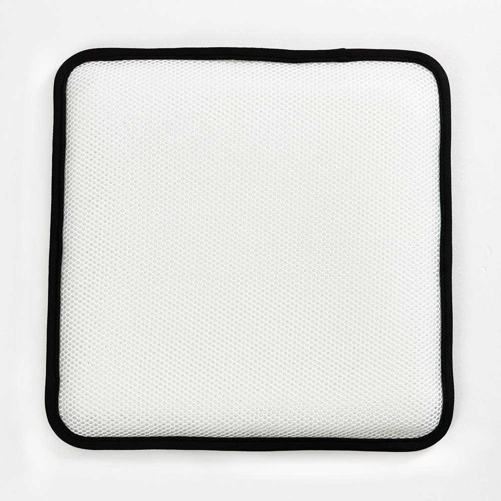 조이홈 3D 매쉬 통풍방석, 블랙