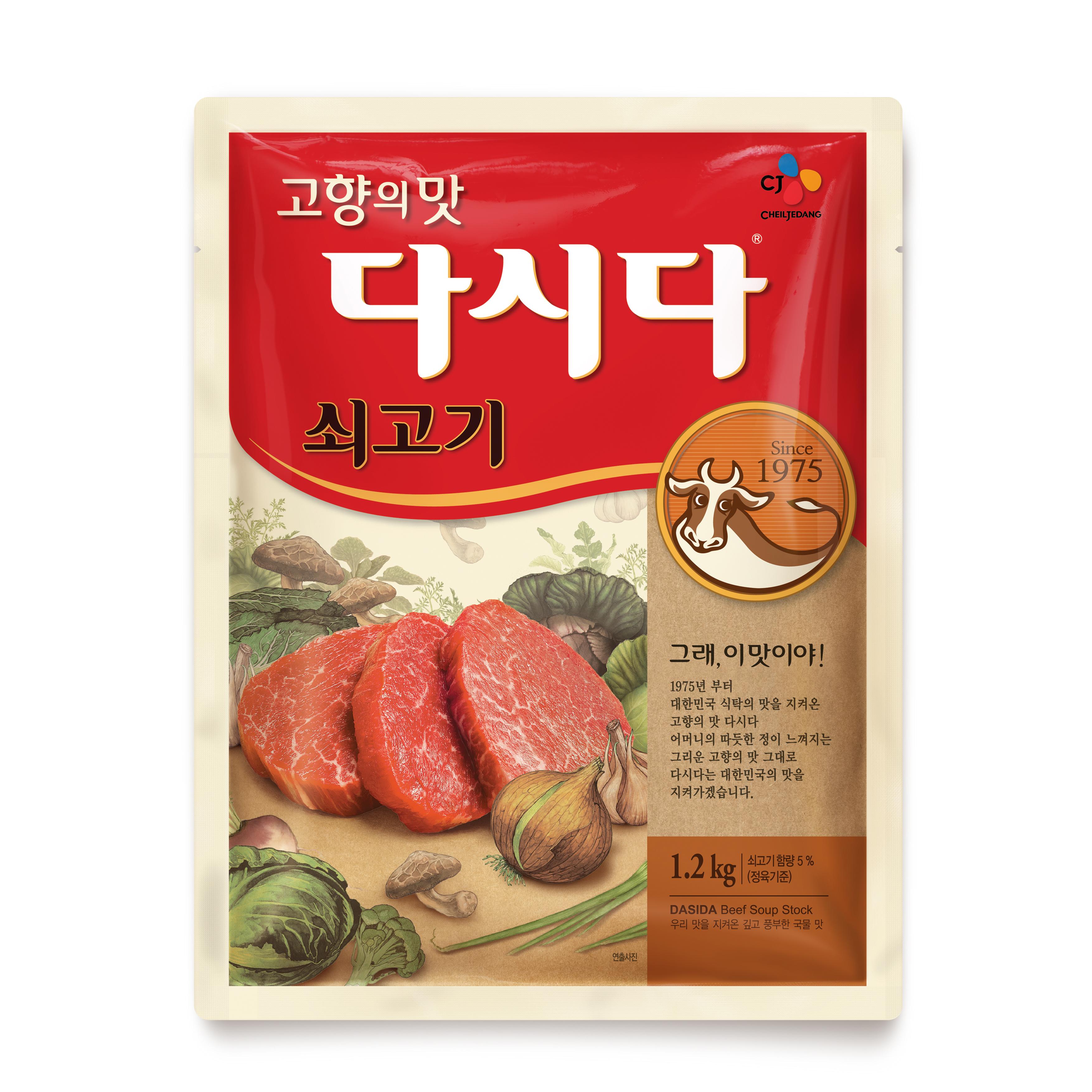 CJ제일제당 다시다 쇠고기, 1.2kg, 1개