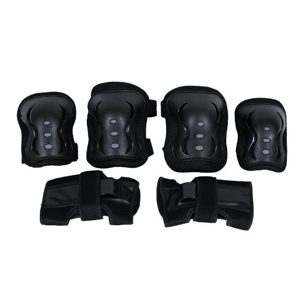 [인라인보호대] 랜드웨이 아동 성인 모션 보호대 3종 세트, 블랙 - 랭킹1위 (12520원)