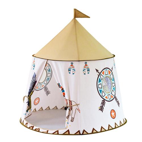 파파스토이 원형 인디언 놀이텐트 러블리 라이언치프, 혼합 색상